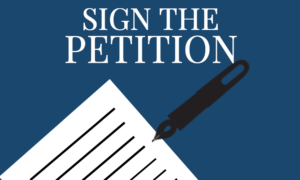 Home Page Petition Slider