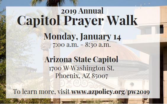 Capitol Prayer Walk