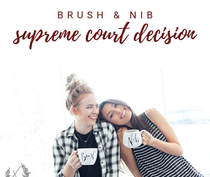 What Happened in Brush & Nib?